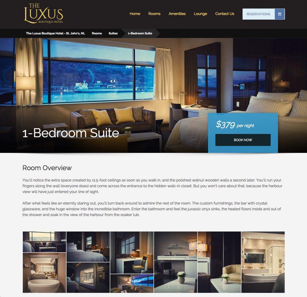 The luxus boutique hotel website big bright sun for The luxus boutique hotel